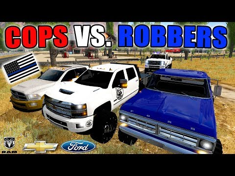 TRUCKS EDITION | COPS VS. ROBBERS | SUBSCRIBER LIVE STREAM | FARMING SIMULATOR 2017 thumbnail
