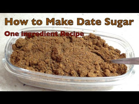 date sugar benefits