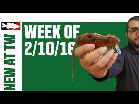 What's New At Tackle Warehouse w. Matt Solorio  - 2/10/16