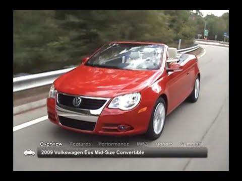 2009 Volkswagen Eos Used Car Report