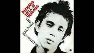 Richard HELL i belong to the BLANK GENERATION alternate take