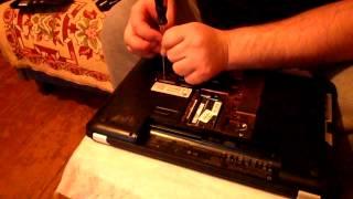 видео Чистка ноутбука HP Pavilion G6-2204SR от пыли. Выезд на дом