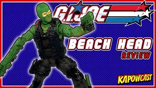G.I. JOE CLASSIFIED COBRA ISLAND BEACH HEAD REVIEW  | TARGET EXCLUSIVE