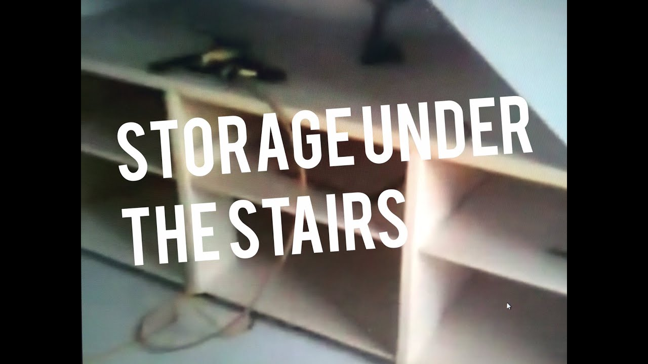 Build Cabinet Drawer Bo Base Under Stairs Storage Shoes Shelving