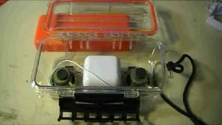 How to make an underwater speaker / sound system!