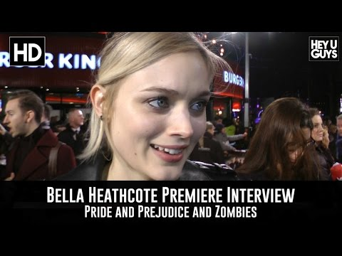 Bella Heathcote Premiere Interview - Pride and Prejudice and Zombies