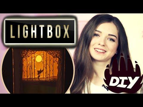 AFINKA DIY: Подарок 🎁 своими руками | LIGHT BOX Paper-cut