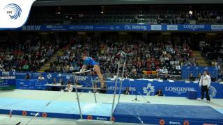 Daria SPIRIDONOVA (RUS) – 2016 European Championships – Qualifications Uneven Bars