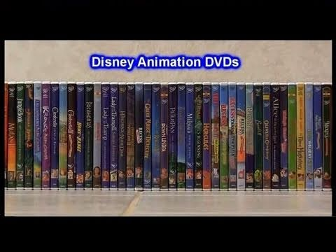 My Disney Pixar DVD Animation Collection