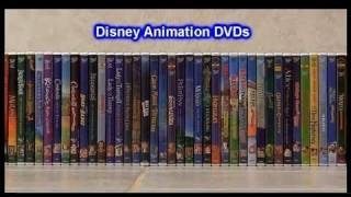 My Disney DVD Collection Animation titles