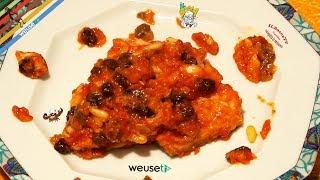 65 - Baccalà dolce forte..s'è finito già le scorte (secondo piatto di pesce originale e saporito)
