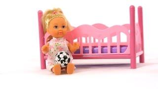 Мультик для девочек! Колыбельная для Принцессы Эви. Куклы для девочек.