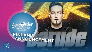 Darude will represent Finland at the 2019 Eurovision Song Contest
