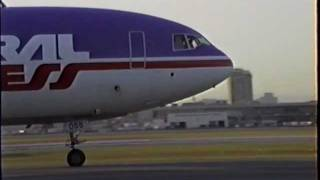 Ill-Fated Federal Express McDonnell Douglas DC-10-10CF Departing LAX