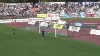 FC町田ゼルビア 山腰選手ゴール1点目(2011.07.02 MIOびわこ草津戦)