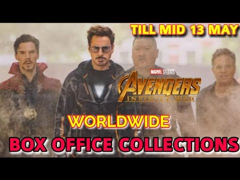 AVENGERS INFINITY WAR WORLDWIDE BOX OFFICE COLLECTION TILL 13 MAY  | EARTH SHATTERING FIGURES
