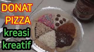 KREASI KREATIF DONAT MIRIP PIZZA #2