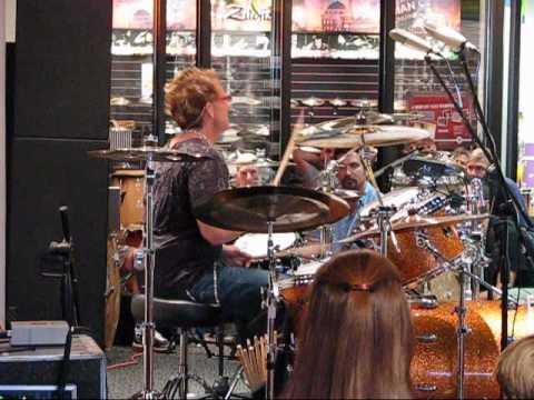 Drummer Video: Mark Schulman Clinic 06/12/2008 Part 2