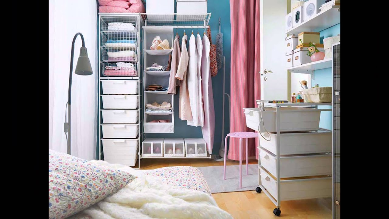 organizing ideas for small bedrooms