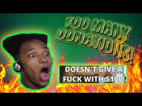 ETIKA GETS BOMBARDED WITH $100+ DONATIONS