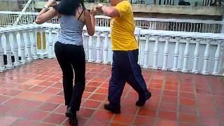 Salsa Dancing Yennifer  & edward! Aguanile