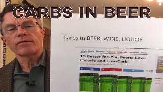 Carbs in Beer, Wine and Liquor: part 1 - Beer