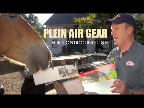 PLEIN AIR GEAR For Controlling Light On Your Painting