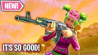 *NEW* Heavy AR Is INSANELY GOOD!! (Infinite Lists Fortnite)