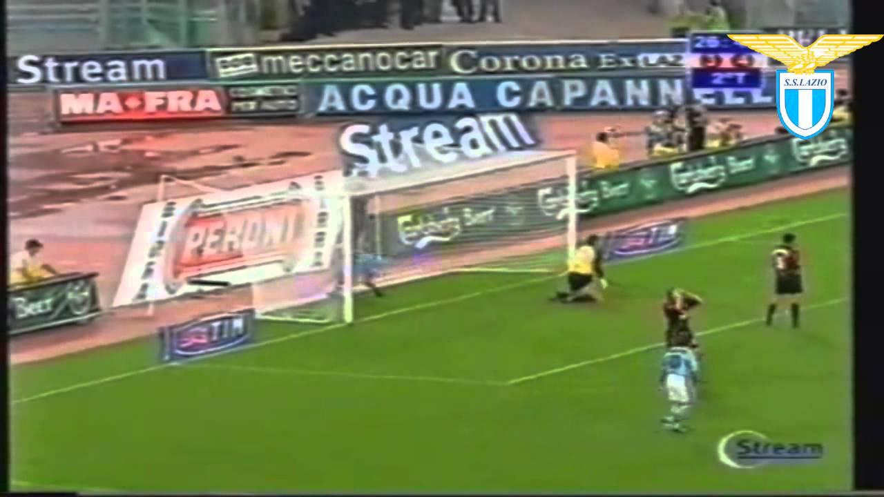 Marcelo Salas Lazio Goals & Skills - YouTube