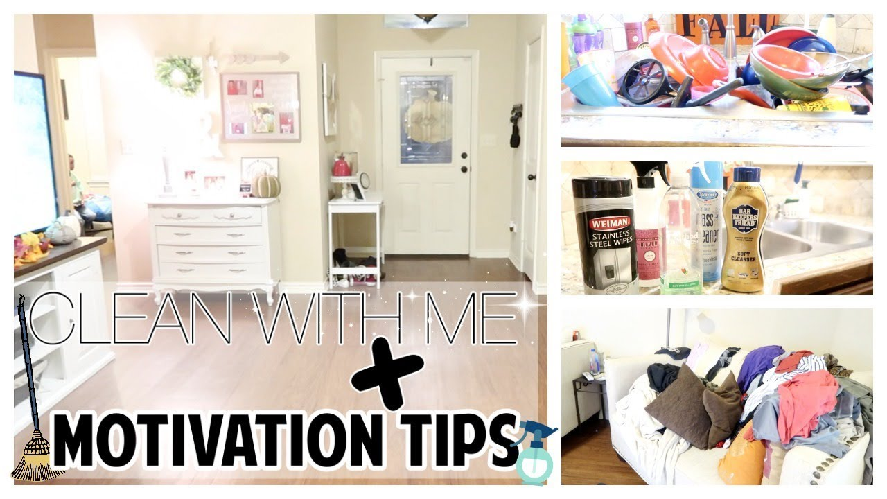 Cleaning Motivation Tips Clean With Me Super Dirty House Sahm