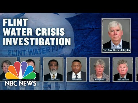 Ex-Governor, Former Michigan Officials Charged In Flint Water Crisis | NBC Nightly News