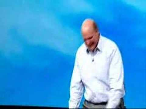 """Steve Ballmer screamed 'Web Developer' on Mix08!"""
