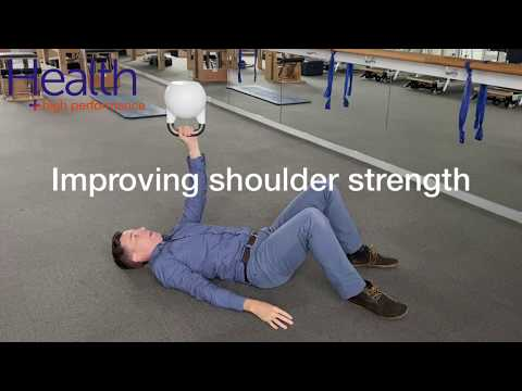 Improving shoulder strength | Melbourne Sports Chiropractor