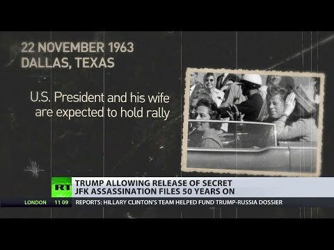Trump releases JFK assassination files 50 years on