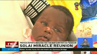 Solai miracle reunion: Baby rescued by Mary Waruguru, police officer reunited with mother