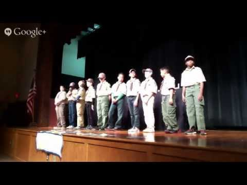 Pack 501 Rank Advancement and Crossing Over Ceremony