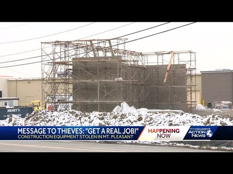Thieves Targeting Westmoreland County Construction Sites
