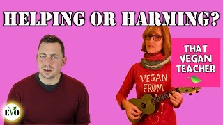 What is That Vegan Teacher Doing?!  Edmonton Vegan Outreach