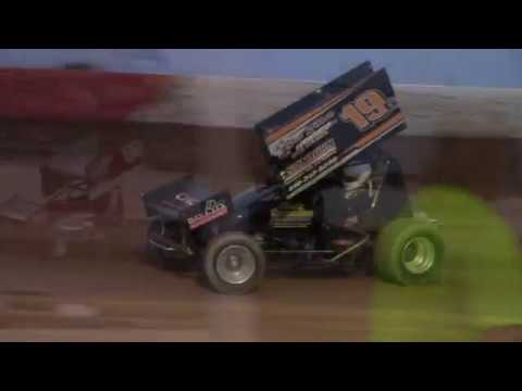 Trail-Way Speedway 358 Sprint Car Highlights 5-19-17