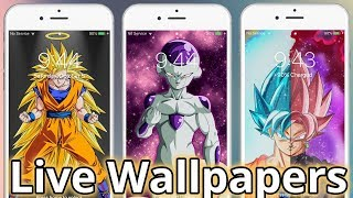 Dragon Ball Super Live Wallpapers! 2019 iPhone iPad & Android