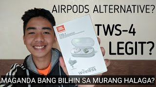 AFFORDABLE WIRELESS EARBUDS (AIRPODS ALTERNATIVE)   JBL TWS4 Full Review   Rome Jer