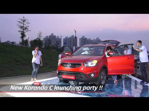 [SsangYong Motor] New Korando C Press conference & Launching Party (Eng Ver.)