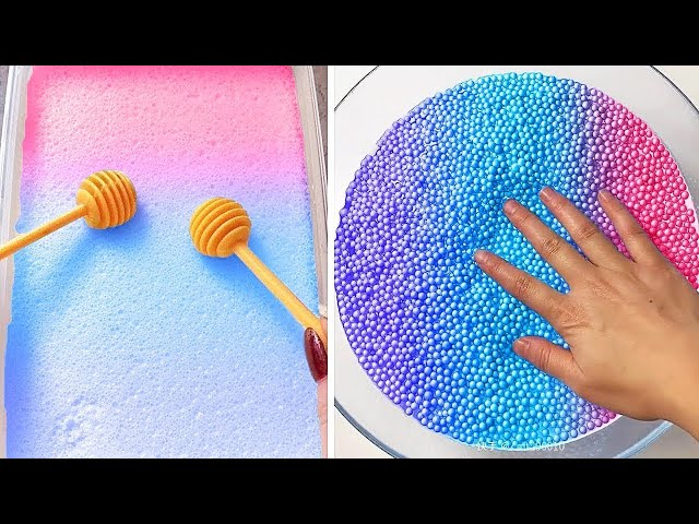 Oddly Satisfying Slime ASMR No Music Videos | Relaxing Slime 2020 | 13