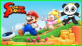 Mario + Rabbids Kingdom Battle gameplay and Walkthrough Let's Play with Combo Panda