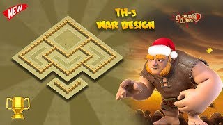 Town Hall - 5 Epic { War/Trophy } Protection Layout #2K18 | Clash Of Clans