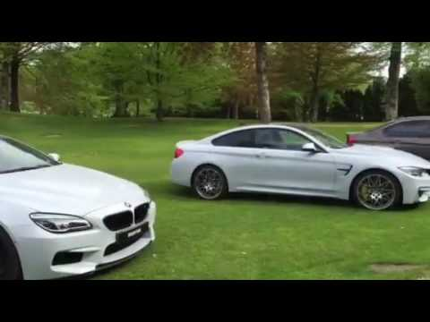 BMW M Individual in Sweden: M3, M4 and M6 Grand Coupe