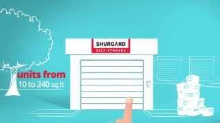 Why choose Shurgard Self-Storage? (English)