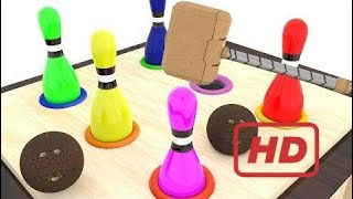 Wooden Hammer Colors - Simple Animation For Kids  # 351