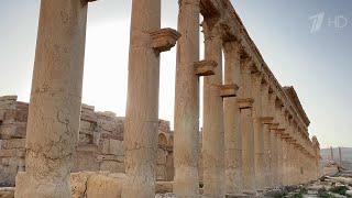 Легендарную триумфальную арку в сирийской Пальмире воссоздают лучшие российские специалисты.