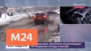 Спасатели предупреждают об усилении ветра и гололеде в Москве - Москва 24